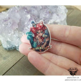 Mermaid pin-Wanderlust Hearts