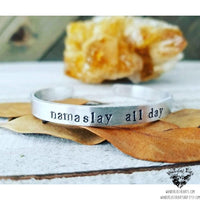Namaslay all day cuff bracelet-Wanderlust Hearts