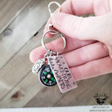 Our Adventure awaits keychain