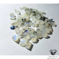 Raw Moonstone stud earrings-Wanderlust Hearts
