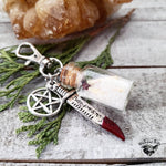 Supernatural bag charm | salt and burn bottle