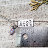 Stay wild moon child necklace