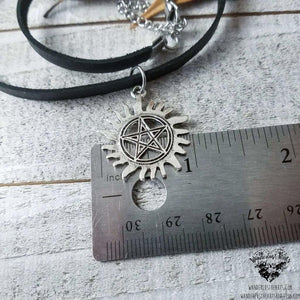 Supernatural Anti possession choker necklace-Wanderlust Hearts