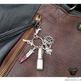 Supernatural protection keychain-Wanderlust Hearts