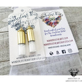 Supernatural Salt bullet earrings-Wanderlust Hearts