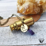 Telescope necklace | Veni Vidi Amavi-Wanderlust Hearts