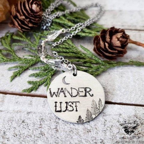 Wanderlust Herkimer diamond necklace-Wanderlust Hearts