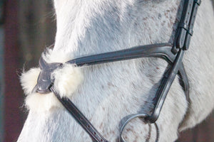 Figure 8 Sheepskin Grackle Noseband
