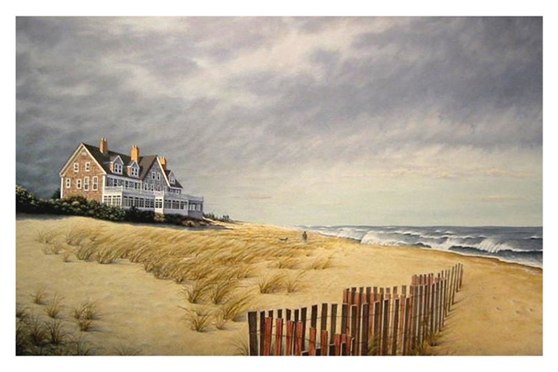 Beach House Coastal by Daniel Pollera - FairField Art Publishing