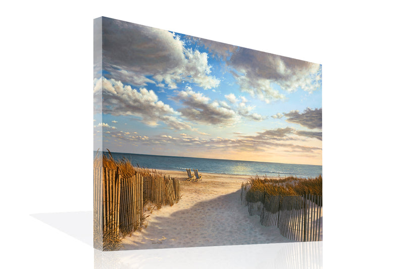 Sunset Beach Canvas Art