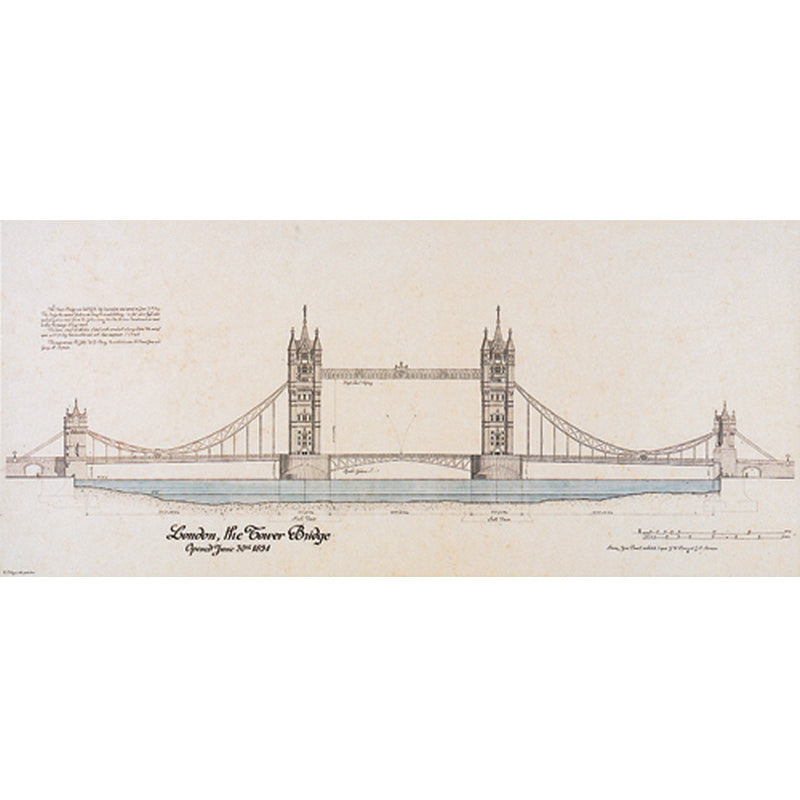 Tower Bridge, London Posters by Yves Poinsot - FairField Art Publishing