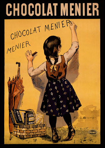 Chocolat Menier (yellow) by Fermin Bouisset - FairField Art Publishing