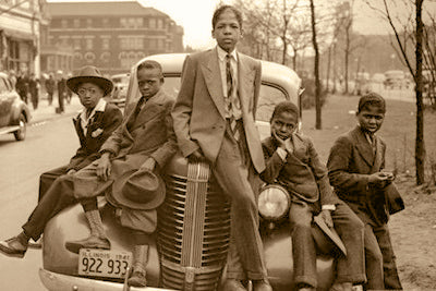 Chicago Boys, Sunday Best, 1941 by FairField Art Publishing - FairField Art Publishing