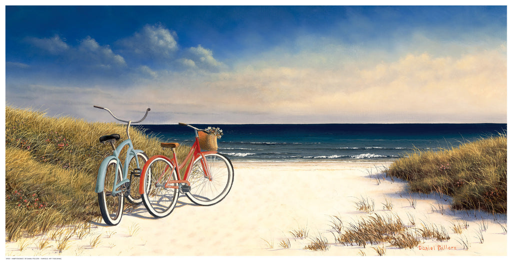 Hampton Bikes by Daniel Pollera - FairField Art Publishing