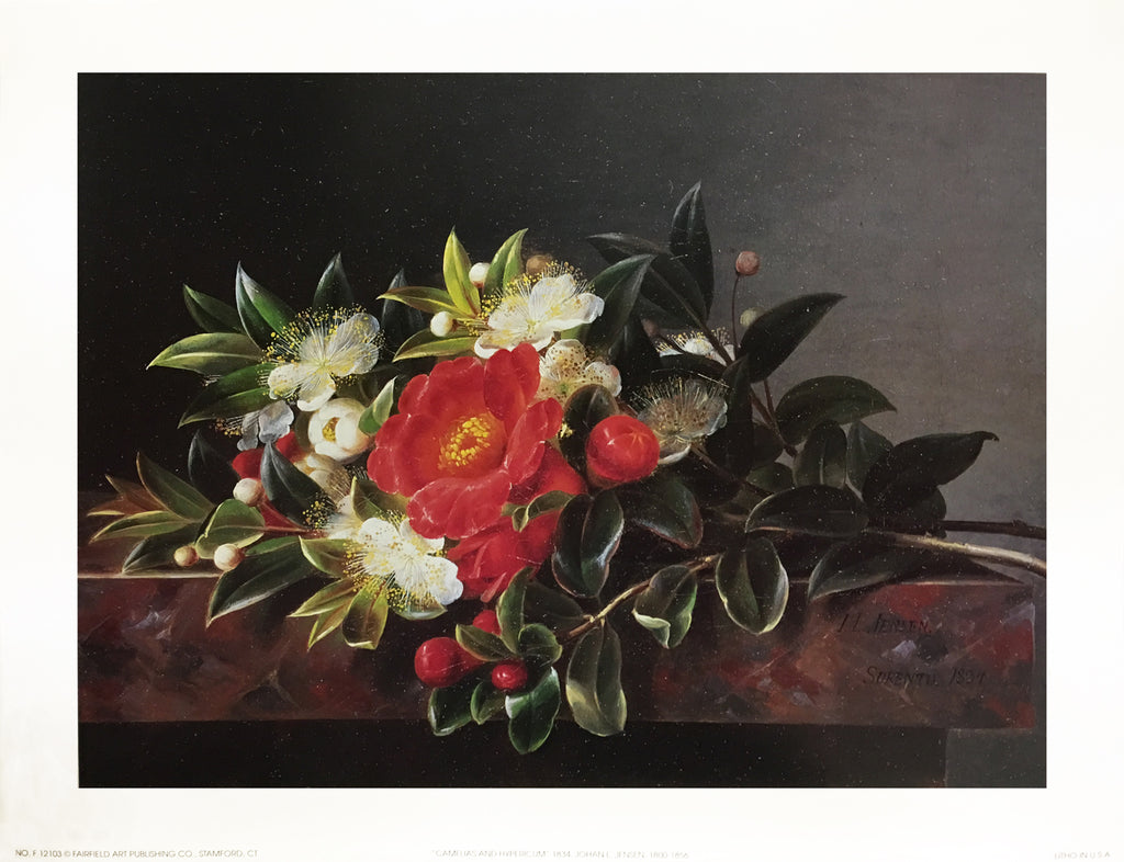 Camellia's Hypericum by Johan Laurentz Jensen - FairField Art Publishing