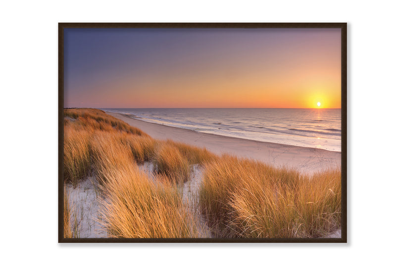 Flowing Copper Beach Grass by Winter - FairField Art Publishing