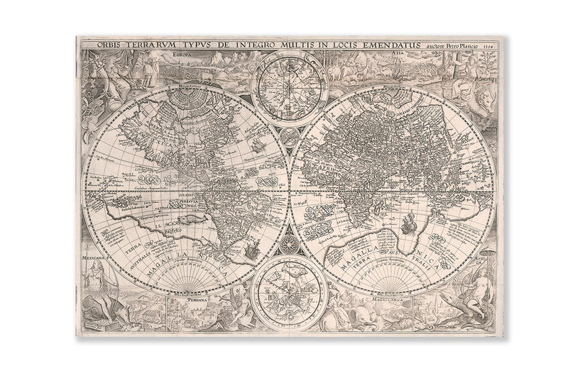 World Map, 1594