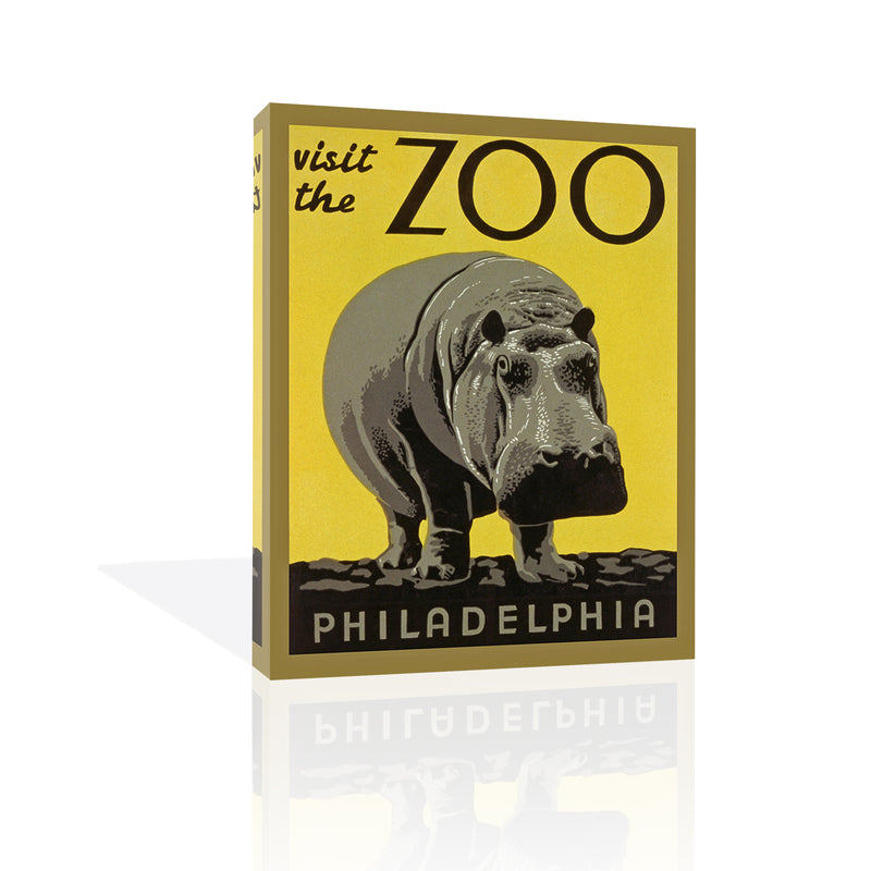Philadelphia Zoo, Canvas Art