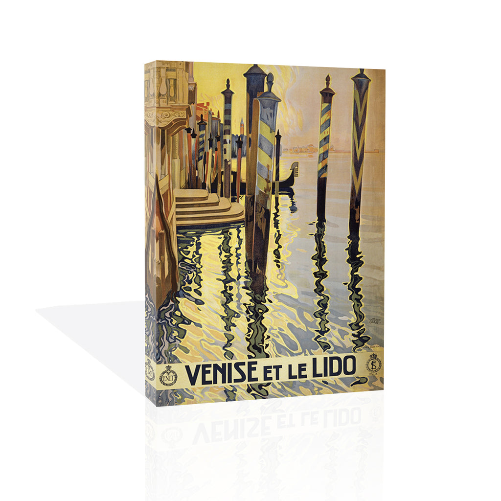 Venice Lido, Canvas Art