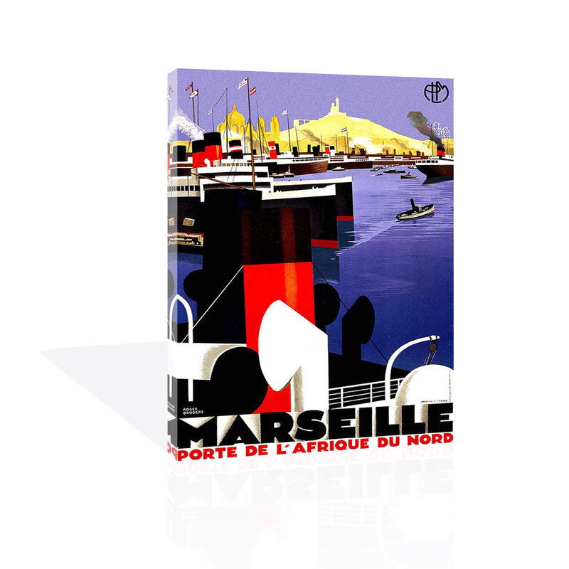Marseille, Canvas Art by FairField Art Publishing - FairField Art Publishing
