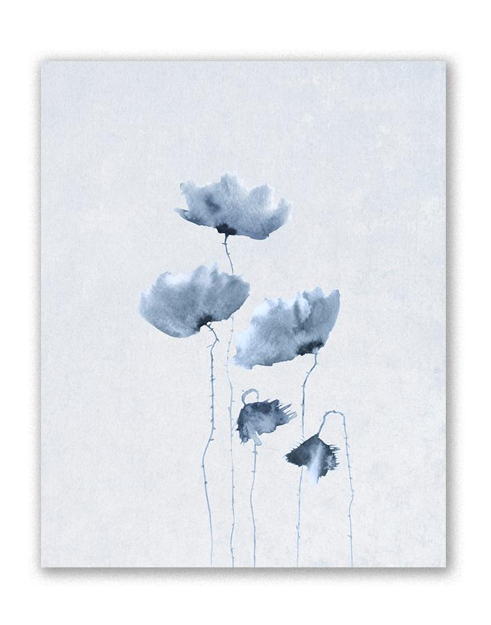 Blue Poppies I Giclee