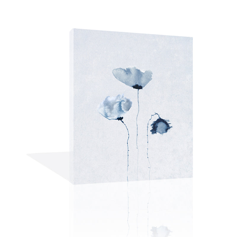 Blue Poppies 2. by FairField Art Publishing - FairField Art Publishing