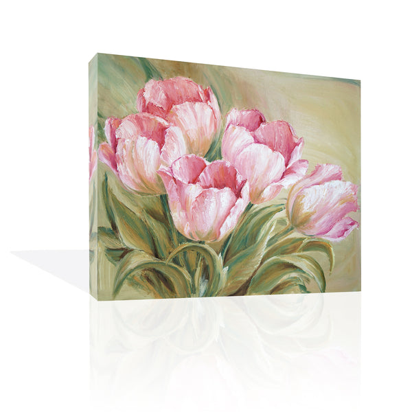 Tulips Painting Pink