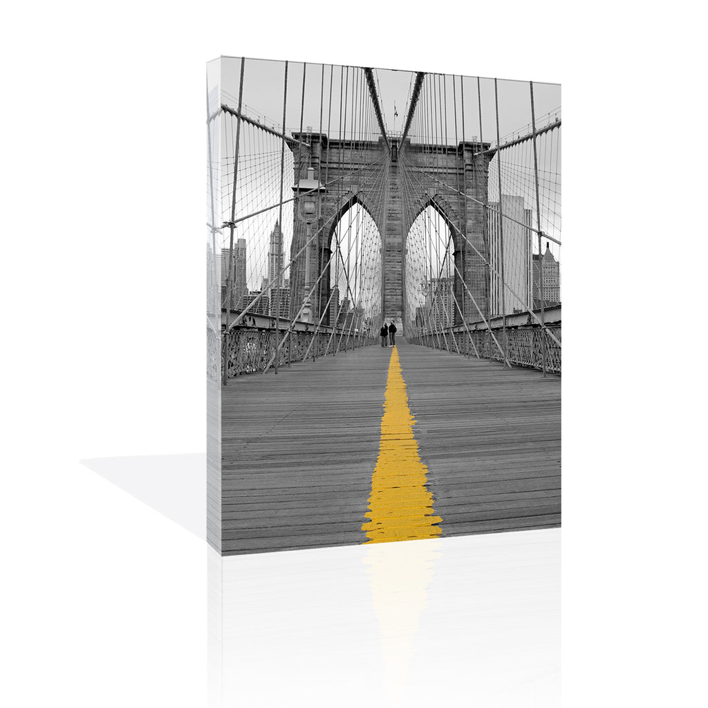 Brooklyn Bridge Couple by FairField Art Publishing - FairField Art Publishing