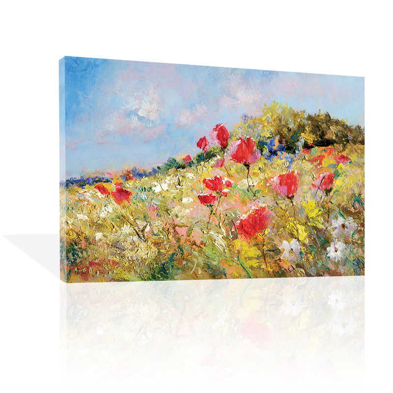 Wild Flower Hill, Canvas Art