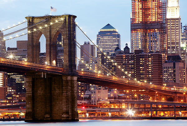 Brooklyn Bridge in Lights