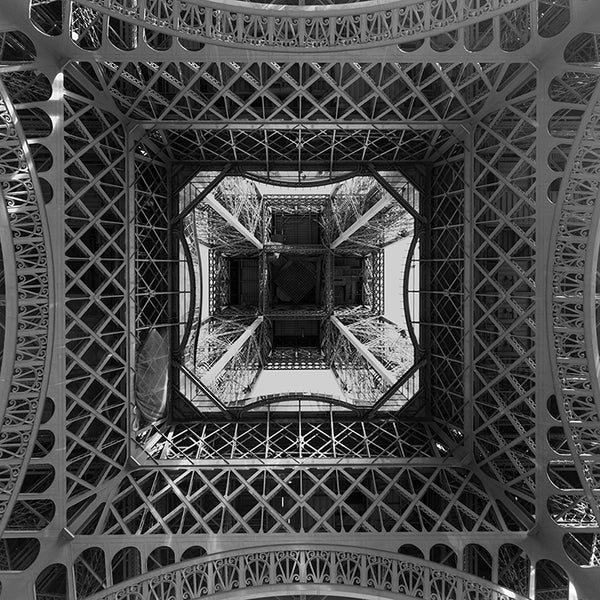 Looking Up inside the Eiffel Tower, Giclee by Stéphane Graciet - FairField Art Publishing
