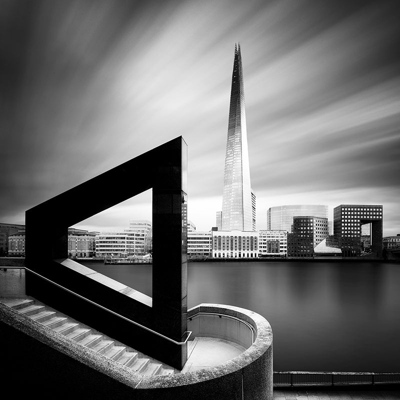 The Shard From Across the Thames, Giclee