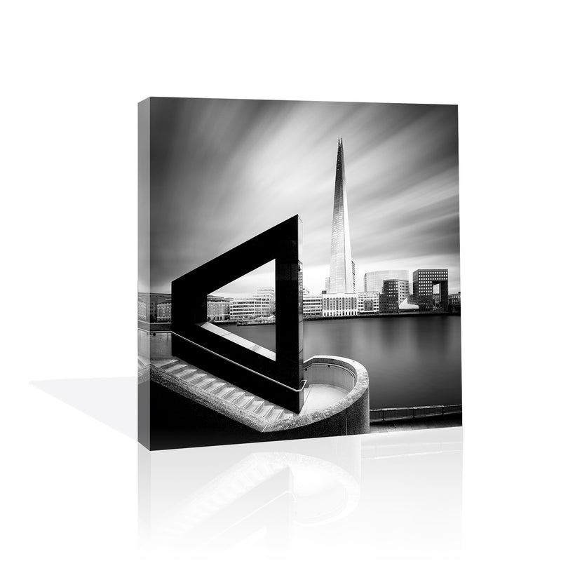 The Shard From Across the Thames, Canvas Art