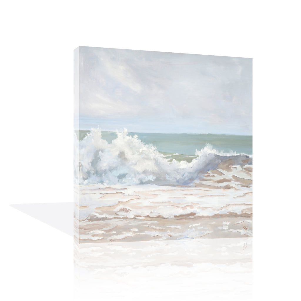 Atlantic Wave Burst Canvas Art by Casey Anderson - FairField Art Publishing