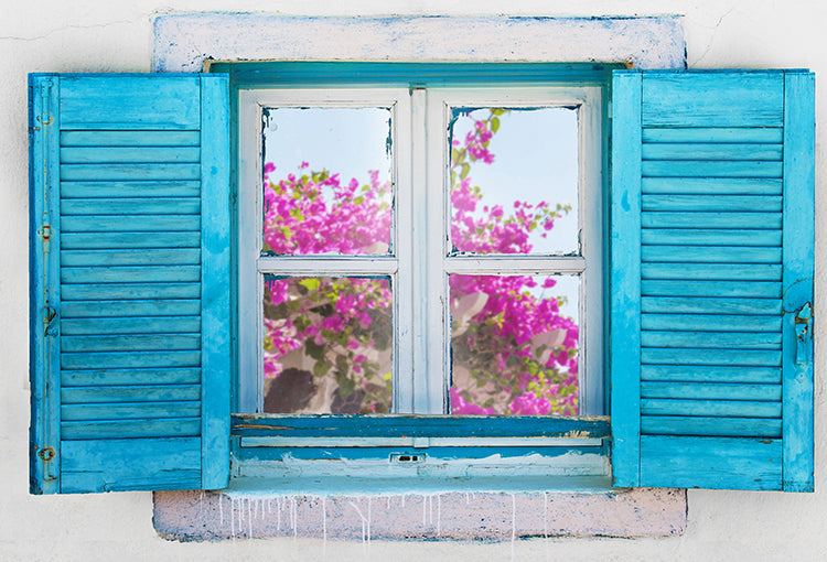 Beautiful Greek Window