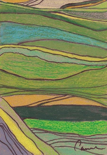 Landscape Abstract Giclee