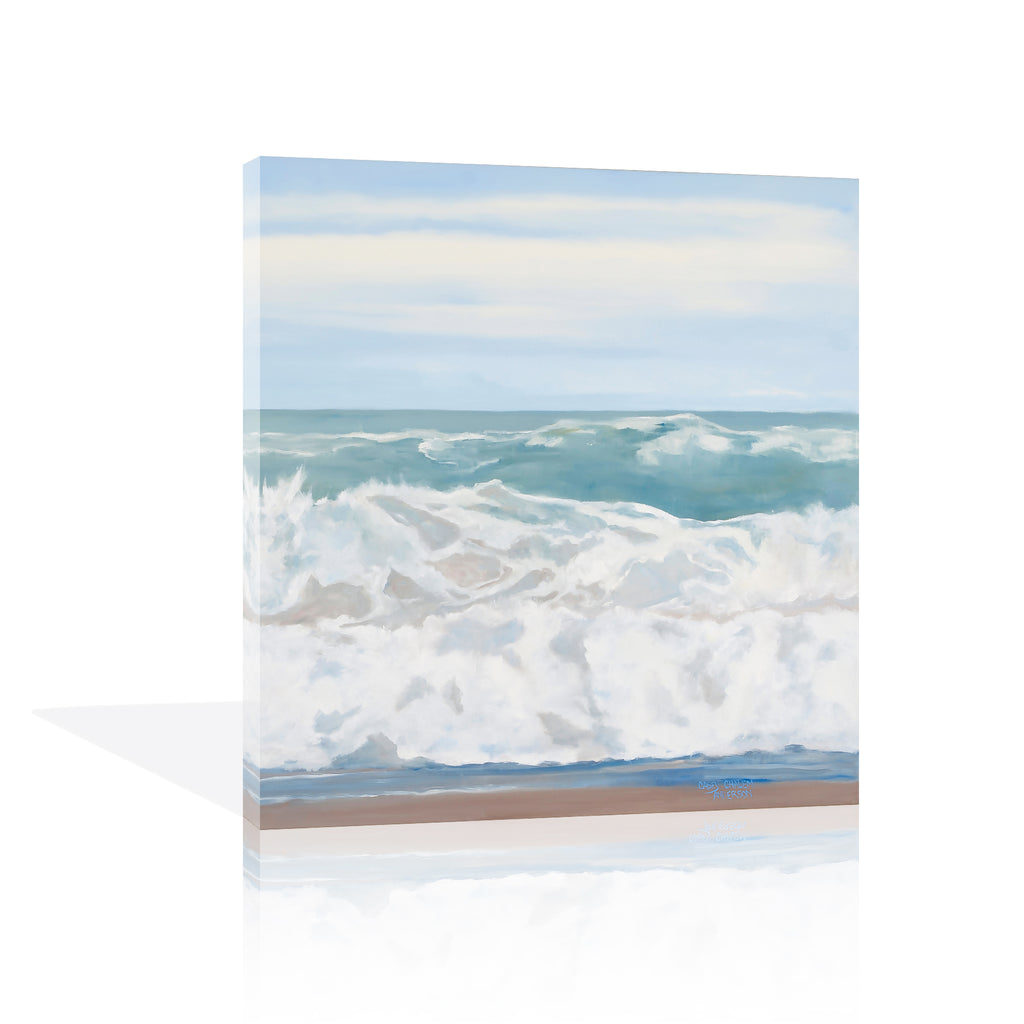 Wild Ocean II Canvas Art
