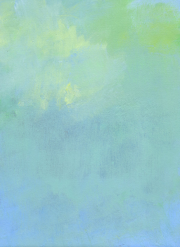 Sky Abstract I., Abstract Canvas Art