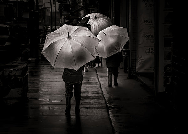 Just Walking in the Rain