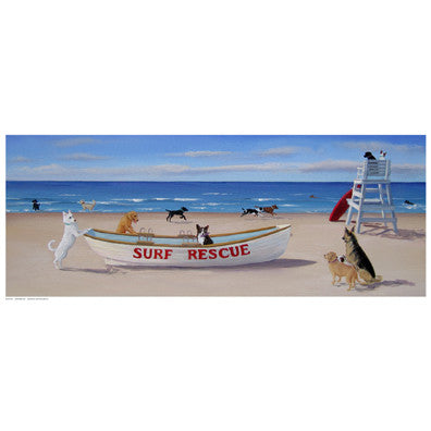 Surf Rescue Coastal by Carol Saxe - FairField Art Publishing