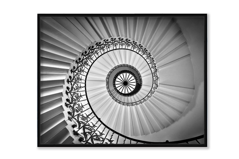Tulip Staircase, Canvas Art