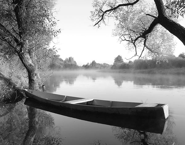 Tranquil Morning B&W