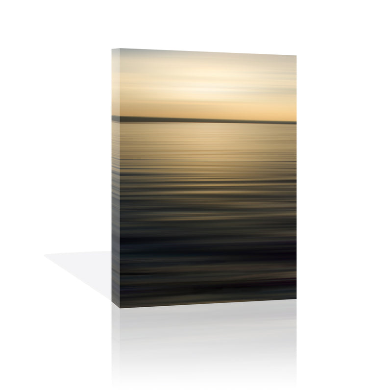Still Waters, Golden I Canvas Art