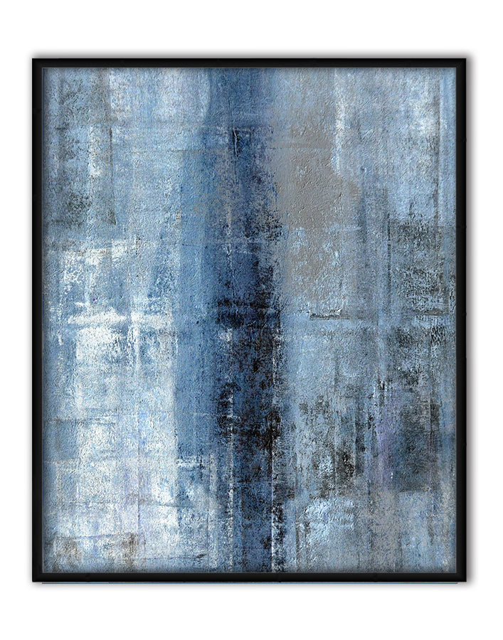 Cerulean Texture I Canvas Art by C. Tice - FairField Art Publishing
