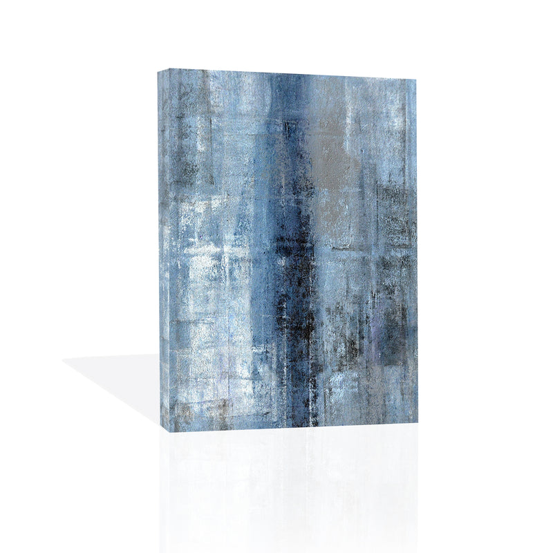 Cerulean Texture I., Canvas Art by C. Tice - FairField Art Publishing