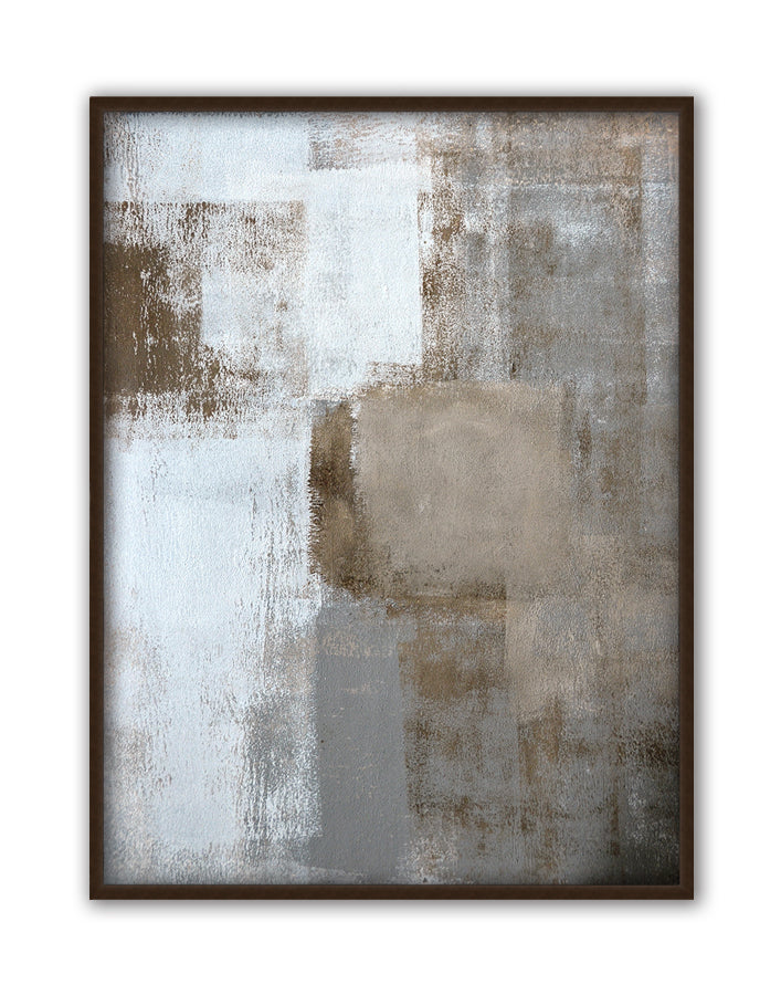Neutral Texture I., Canvas Art