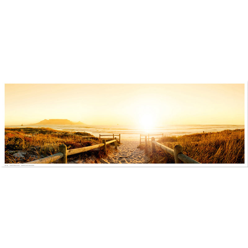 Sunset Beach Path Posters by Anon - FairField Art Publishing