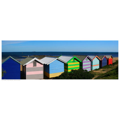 Colorful Bathing Boxes