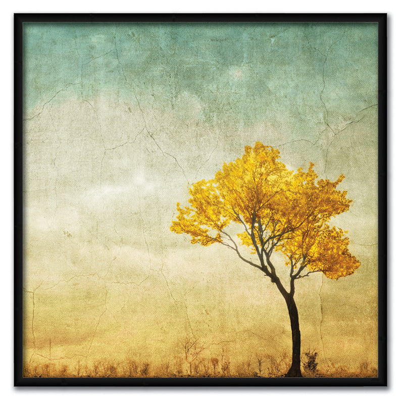 Golden Tree in the Meadow Canvas Art by Anon - FairField Art Publishing