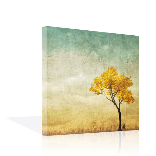Golden Tree in the Meadow, Canvas Canvas by Anon - FairField Art Publishing